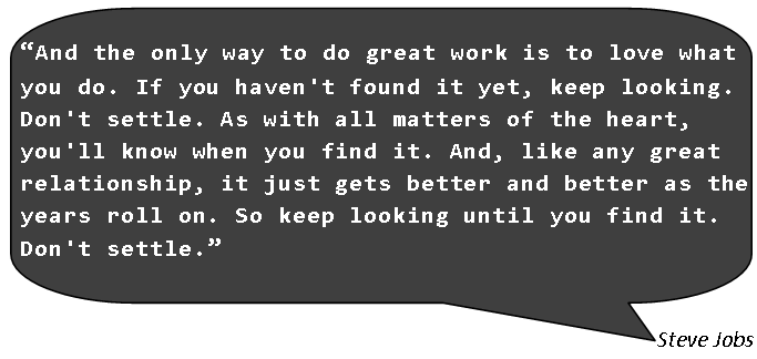 Steve Jobs-Love What you do