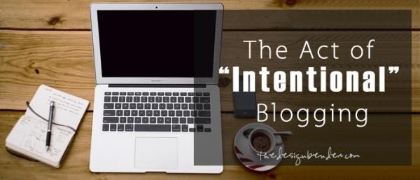 Intentional-Blogging