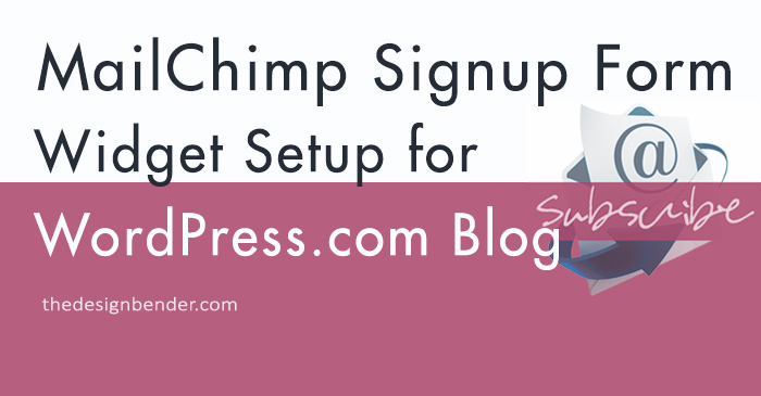 MailChimp-Widget-Setup-WordPress-theDesignBender