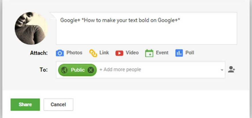 How-to-create-a-bold-text-on-Google-plus--thedesignbender