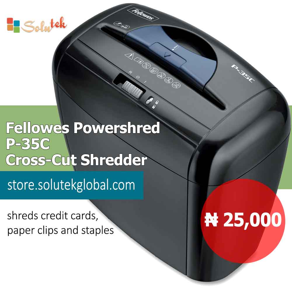 Solutek_Estore_Fellowes-Powershred-P-35C-Cross-Cut-Shredder