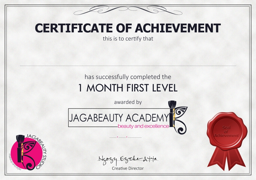 Blank-1mnth-Academy Certificate 2017