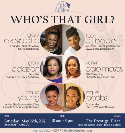 girls-of-destiny-who-is-that-girl-lagos-theDesignBender-flier-design